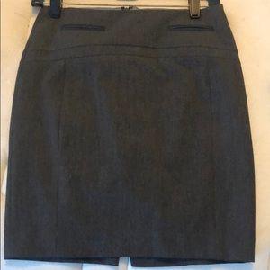 Express pencil skirt (gray)